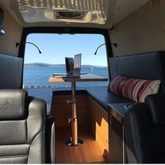 Sleek build by @grgear  Show off your Sprinter Van! Tag #sprintercampervans to be featured!  Regram via @sprintercampervans