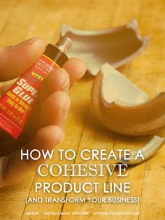 Learn how to create a cohesive product line and why it'll help you boost sales and be more PR/media-friendly!