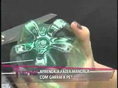 Aprenda a Fazer Mandala com Garrafas Pet vr20110407 - YouTube