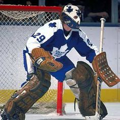 Legends of Hockey - Gallery - Mike Palmateer Toronto Maple Leafs Hockey Goalie, Hockey Teams, Hockey Players, Ice Hockey, Hockey Sport, Bruins Hockey, Toronto Maple Leafs, Nhl, Eric Dickerson