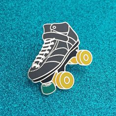 Have you seen our new Roller Derby Skate Pins? They're super detailed! Now available on our website.  (There's a link in our profile!) #rollerderby #lapelpin #glasgowrollerderby #glasgow #rollerskate #pingame #pinbadge #enamelpin by wearegrd