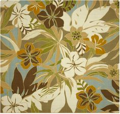 Hibiscus Glow Shoreline by Tommy Bahama. $38.99/m. Outdoor chairs would look great in this fabric!