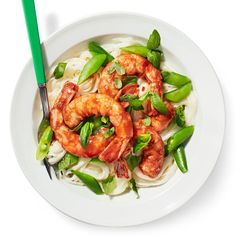 Thai Curried Shrimp and Coconut Noodles