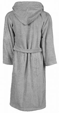 Peignoir de bain - coton velours - homme femme Fashion, Gray, Man Women, Dress, Velvet, Cotton, Accessories, Moda, Fashion Styles
