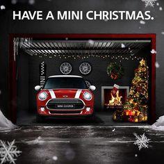 Have a MINI Mini Countryman, Mini Clubman, Mini Driver, Christmas Car, Xmas, Christmas Ideas, Mini Copper, Grand Vitara, Ad Car