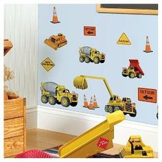 Construction Wall Decal