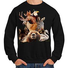 wellcoda Life Freedom Dream Mens Sweatshirt Bright Casual Jumper