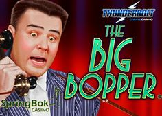 """NEW GAME : 25 #FREESPINS ON #THEBIGBOPPERSSLOTS @ #SPRINGBOKCASINO & #THUNDERBOLTCASINOS  To celebrate the launch of a brand new video slot game """"The Big Bopper"""", Springbok and Thunderbolt Casinos brings you an exclusive 25 Free Spins bonus.  https://www.playcasino.co.za/blog/new-game-25-free-spins-on-the-big-boppers-slots-springbok-thunderbolt-casinos/"""