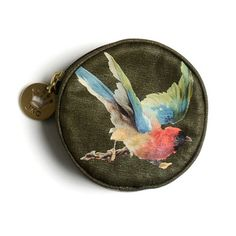 Flying Bird Coin Purse now featured on Fab.