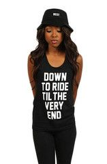 Workout Tanks -- Breezy Excursion X Adapt :: Down To Ride (Bonnie)