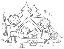 Tips, Tricks, And Techniques For The Best Family Camping Experience Egg Coloring Page, Family Coloring Pages, Camping Theme, Family Camping, Camping Tips, Camping Outdoors, Outdoor Camping, Camping Clipart, Camping In The Woods