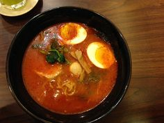 It's a no pork #ramen and very very spicy very very good