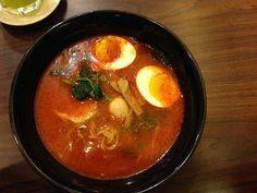 It's a no pork #ramen and very very spicy very very good