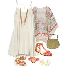 Cool Coral -plus size