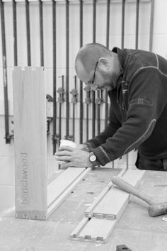 Each dovetail drawer box is created with attention to detail in our workshop at Benchwood Kitchens, Cirencester www.benchwoodkitchens.co.uk