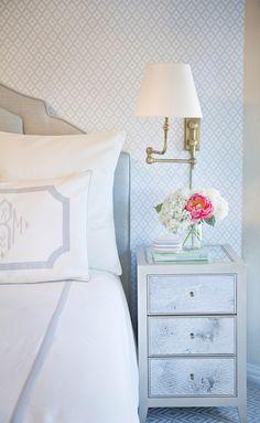 Clean and crisp bedroom