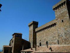 Italy, Bolsena - la rocca dei Monaldeschi della Cervara. 42°38′41″N 11°59′09″E