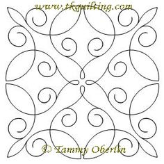Beautiful free-motion designs at Quilters Niche. These are ... : simple quilting stitches - Adamdwight.com