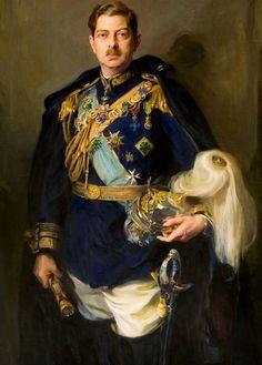 King Carol II of Romania by Phillip de Laszlo, Old Portraits, Portrait Art, European History, Art History, Michael I Of Romania, Romanian Royal Family, King Painting, Herzog, Kaiser