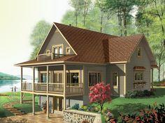 Sunderlin Cabin Home  from houseplansandmore.com