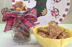 an affair from the heart: Peanut Brittle