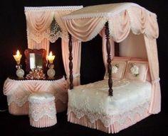 Miniature Pink Bedroom