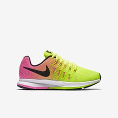 b2b7764f68e1 Nike Air Zoom Pegasus 33 (13.5-6) Older Kids  Running Shoe