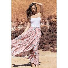Solange Rocky Maxi Skirt Elastic Waist, Dress Up, Skirts, Fashion, Moda, Costume, Fashion Styles, Skirt