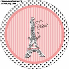 15 Años París: Etiquetas Gratis para Candy Bar.