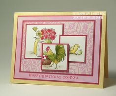 SC268 Country Morning Birthday by shellied - Cards and Paper Crafts at Splitcoaststampers