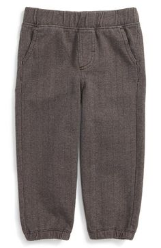 Tea Collection Herringbone Pants (Baby Boys) available at #Nordstrom
