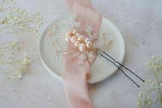 Aria Pearl Hairpins – Alexandra Bespoke Pearl Hair Pins, Circlet, Hair Pieces, Bespoke, Bobby Pins, Silver Plate, Swarovski Crystals, Plating, Hair Accessories