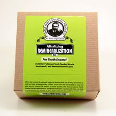 Remineralization Kit for Tooth Enamel (1 kit), Uncle Harry's Natural Products