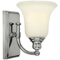 """Hinkley Colette 8 1/4"""" High Chrome Wall Sconce - #3J576 
