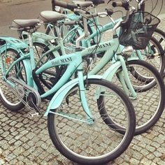 So beginnt die #ebayinspiriert Geschichte von Susanne: schöne Fahrräder gerade bei eBay gekauft