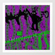 Monkey Airport Art Print by Pepita Selles - $17.68