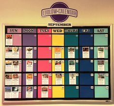 Did you know that Ludlow has an awesome Social Calendar? RA Becca and Bethany created a beautiful calendar that will be updated monthly in the lobby! But we're not done yet! Not only is there one posted in the lobby, but we have an online Google Calendar that will keep you update to date about all