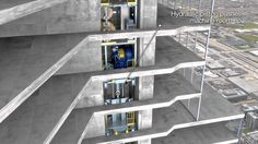 Otis SkyBuild™ Construction Elevator - YouTube