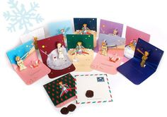 The Little Prince Christmas Pop-Up Card 06