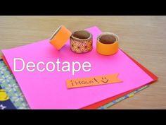 DIY Haz tú mismo/a tu propia decotape de papel!