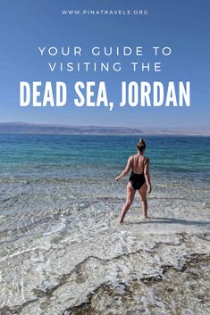 This Dead Sea guide covers everything from how to get to the Dead Sea in Jordan, where to stay, tips for floating in the Dead Sea, and how much it costs! Jordan Dead Sea, Cool Places To Visit, Places To Travel, Dead Sea Israel, Lake Retba, Adventures Abroad, Jordan Travel, Travel Guides, Travel Tips