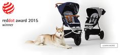 Mountain Buggy urban jungle - The Luxury Collection. Winner of the prestigious Red Dot award 2015