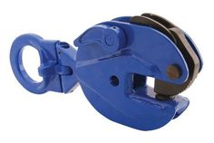 "Vestil EPC-20 Vertical Plate Clamp, 0.75"" Plate Thickness, 2000 lbs Working Load Limit, 2.3"" Bale Opening by Vestil. $166.10. Pivoting bale for easier and more versatile operation. Automatic serrated hardened steel cams and pads. Drop-forged steel case for maximum strength. Designed to meet ASME B30.20. Warning: Do not exceed the working load limit. Serious bodily injury or property damage may result. 400 lbs minimum plate weight. 2.9"" Throat depth."