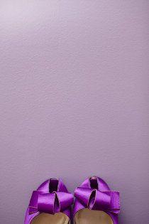 Purple wedding shoes  rowellphoto.com