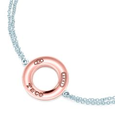 Tiffany 1837™ circle bracelet in RUBEDO® metal and sterling silver. #TiffanyPinterest