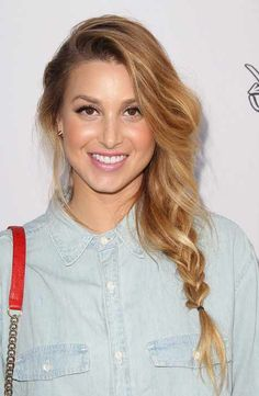 Whitney Port - Loose hair Plait -my hair needs to grow QUICKLY