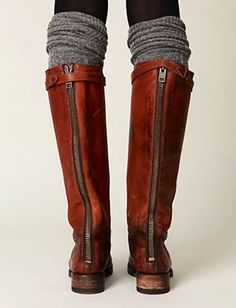 fall mus thave- boot soscks, u can actually make your own out of long socks or old sweaters, I luv these boot socks #fall