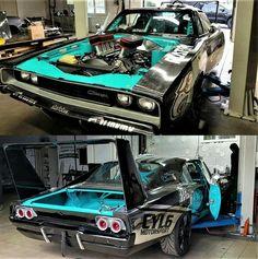 68 Dodge Charger Drift Car