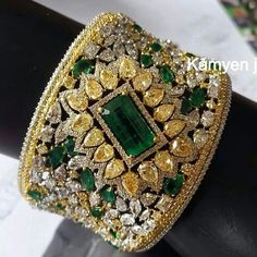 What a fabulous #cufftastic beauty from @kamyenjewellery #jewelleryporn…
