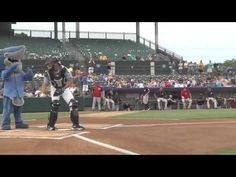 Girl Throws First Pitch at Baseball Game, Surprised by Father Home from Deployment